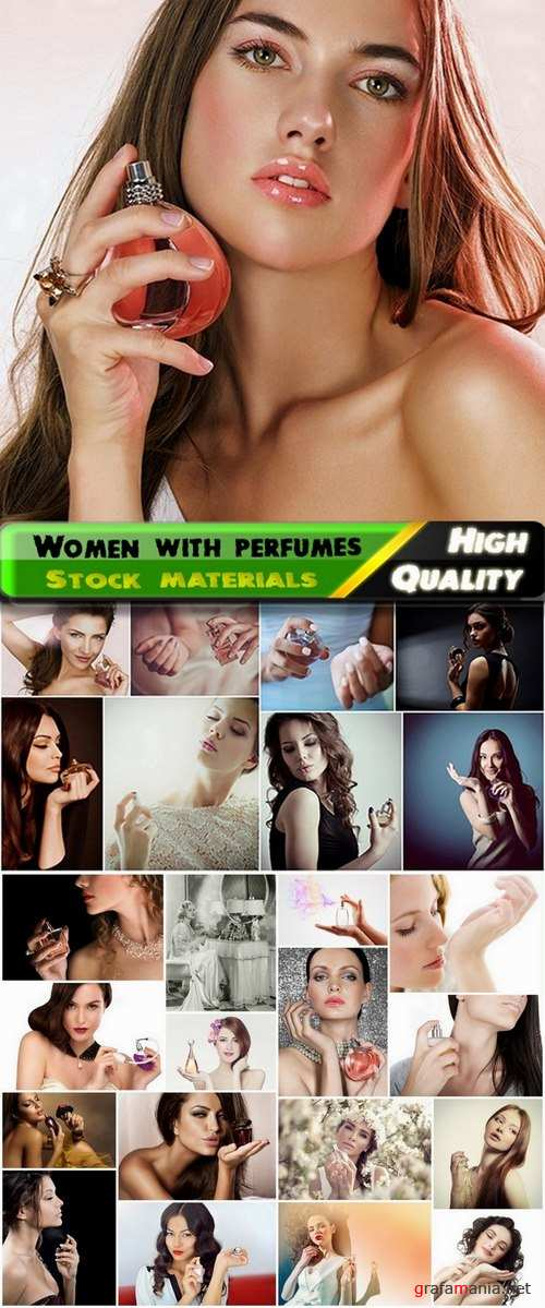 Beautiful women with a fragrant perfumes - 25 HQ Jpg