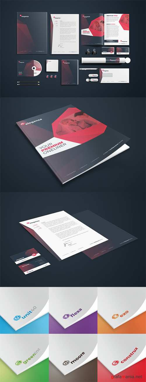 CM - RW Eleganza Clean Corporate Identity 215072