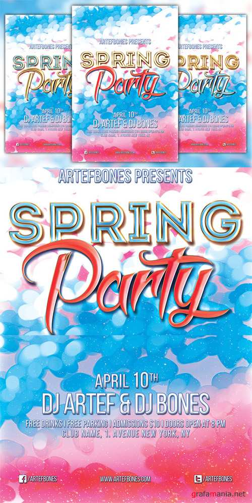 CM - Spring Party Flyer 220253