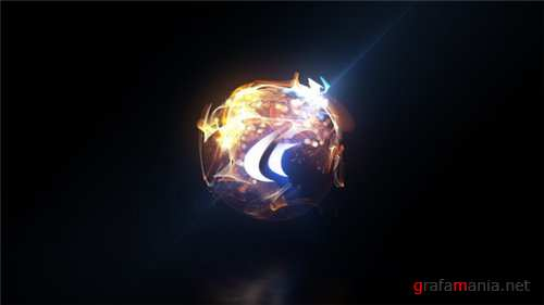 Quick Particle Sphere Logo - After Effects Project (Videohive)