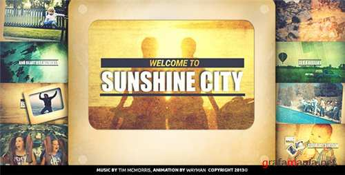 Sunshine City - After Effects Project (Videohive)