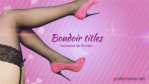 Boudoir Titles - After Effects Project (Videohive)
