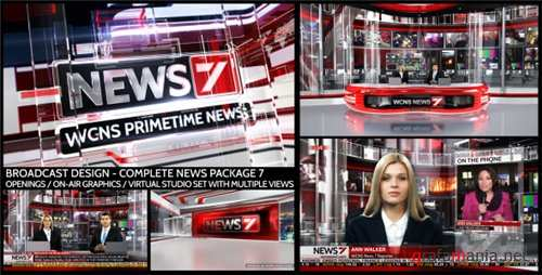 Broadcast Design - Complete News Package 7 - After Effects Project (Videohive)