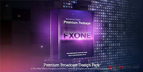 Broadcast Design Fx One - After Effects Project (Videohive)