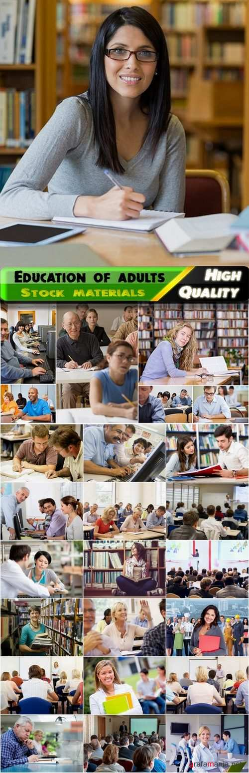 Education and training of adults - 25 HQ Jpg