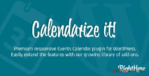 CodeCanyon - Calendarize it! for WordPress v.3.3.4.57447