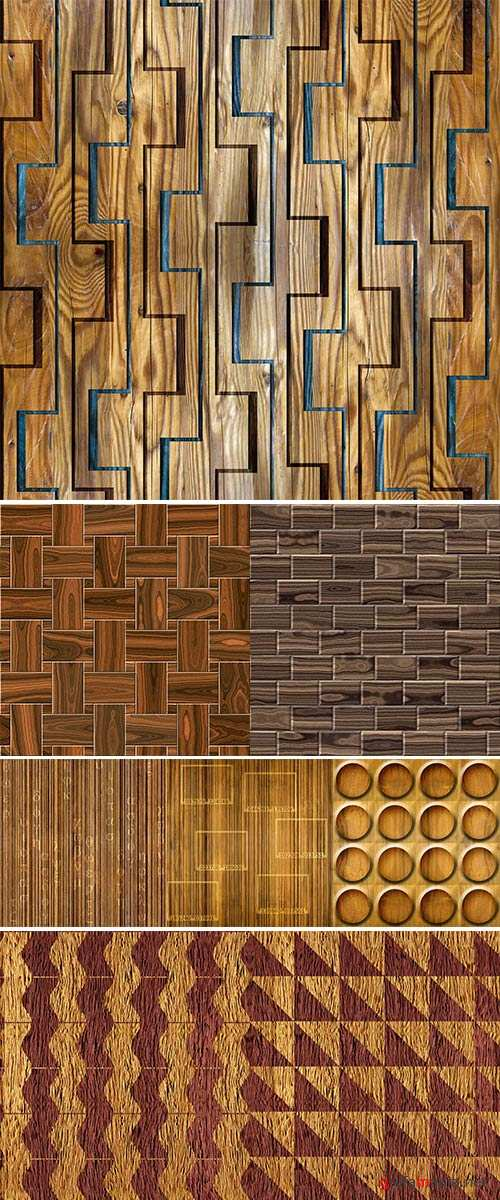 Stock Photo Abstract paneling pattern, seamless pattern, parquet flooring