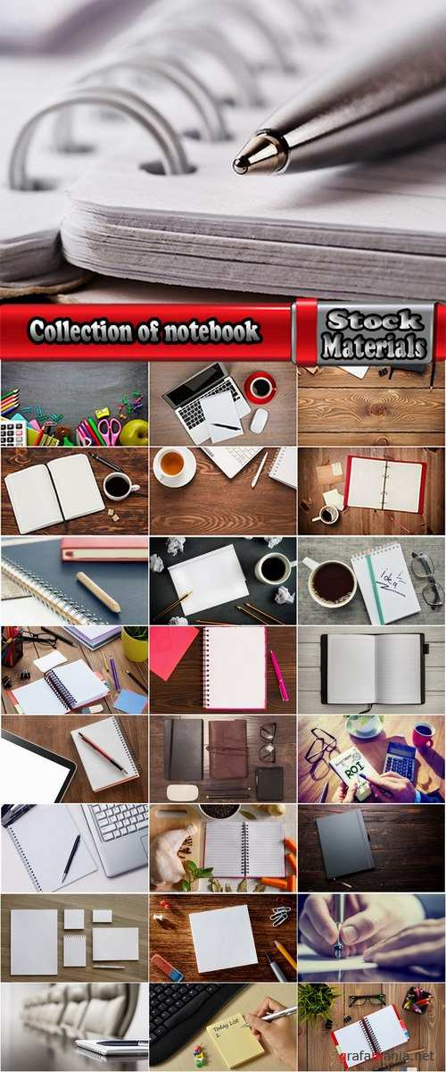 Collection of notebook notebook business attributes ballpoint pen pencil 25 HQ Jpeg