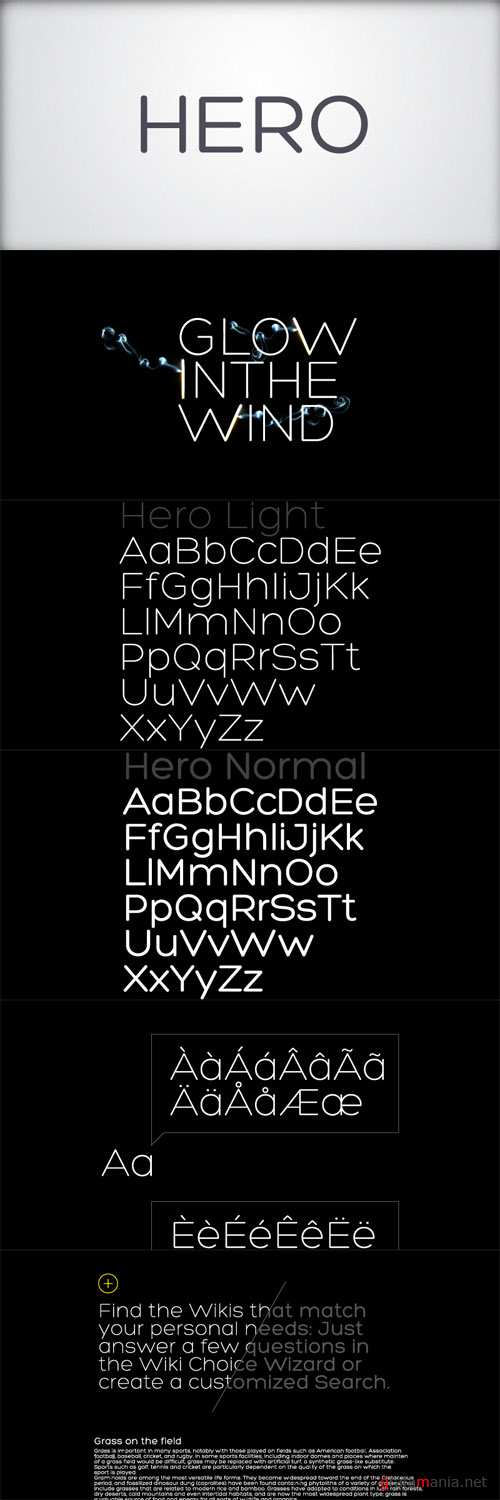 Classy Rounded Typeface Font - HERO