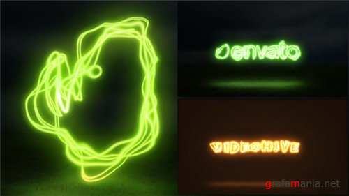 Light Painting Logo - After Effects Project (Videohive)