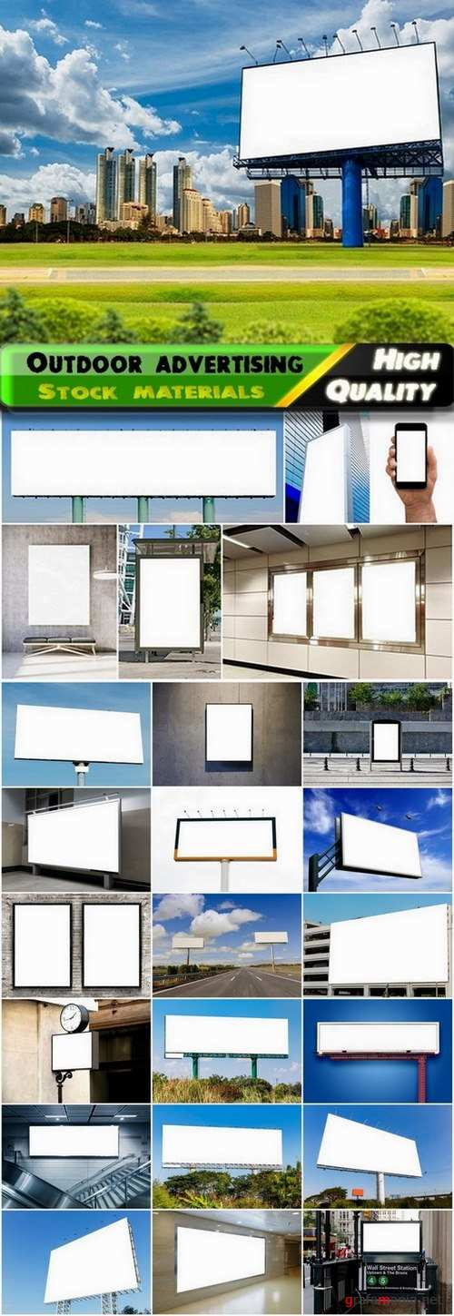 Outdoor advertising and billboards 2 - 25 Eps