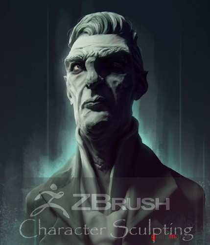 Zbrush Character Sculpting Tutorial - Dishonored Style Portrait (2015)