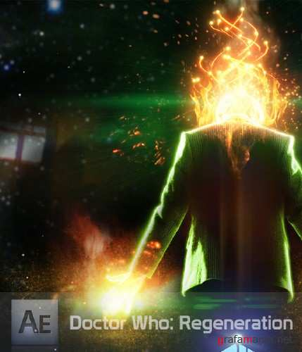 How to Create Doctor Who Regeneration in Effect After Effects (2015)