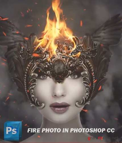 Fire Photo in Photoshop CC (2014)