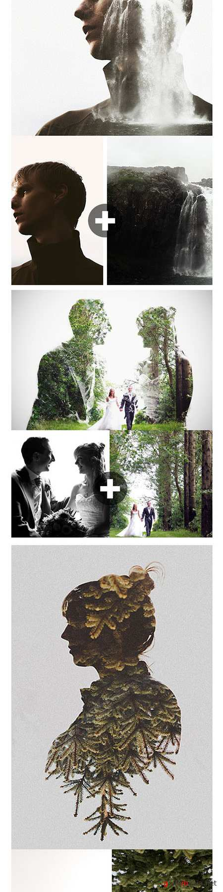 GraphicRiver - Double Exposure Photoshop Action 11617764
