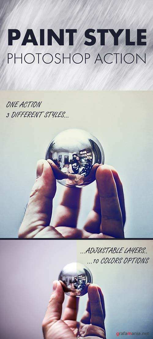 GraphicRiver Paint Styles - Photoshop action