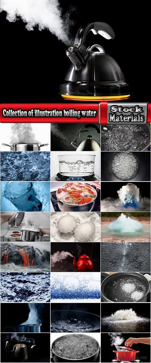 Collection of illustration kitchen boiling water hot water geyser 25 HQ Jpeg