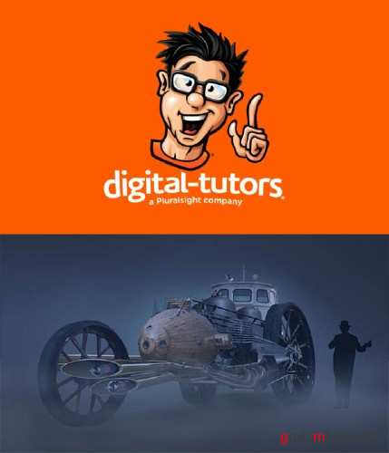 Digital Tutors - Creating a Steampunk Concept Vehicle in Photoshop (2015)