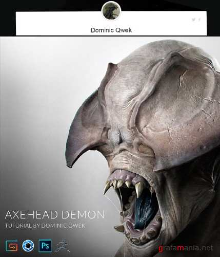 Gumroad – Axehead Demon Tutorial by Dominic Qwek