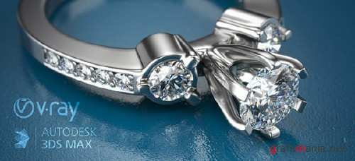 Aversis - How to render jewelry with Vray in 3dsMax