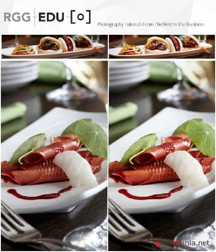 RGGEDU - The Complete Guide To Editorial Food Photography & Photoshop Retouching (2015)