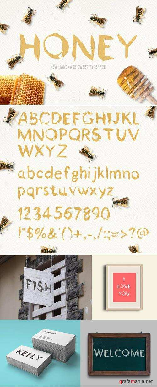 Honey Font