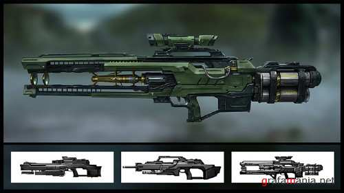 Digital Tutors - Designing Gun Concepts for First Person Shooters in Maya and Photoshop