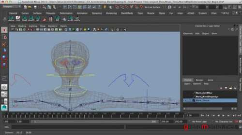 Accelerating the Face Rigging Process in Maya (2015)