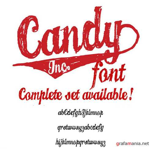 Font - Candy Ink