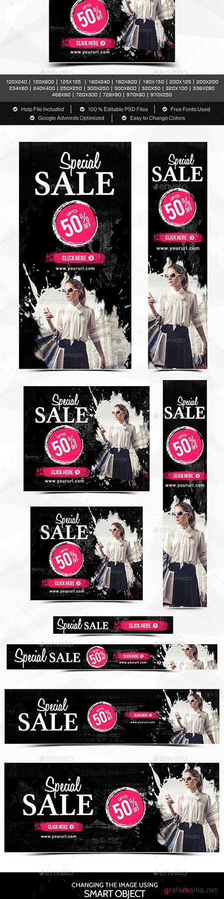 GraphicRiver - Special Sale Banners 11342218