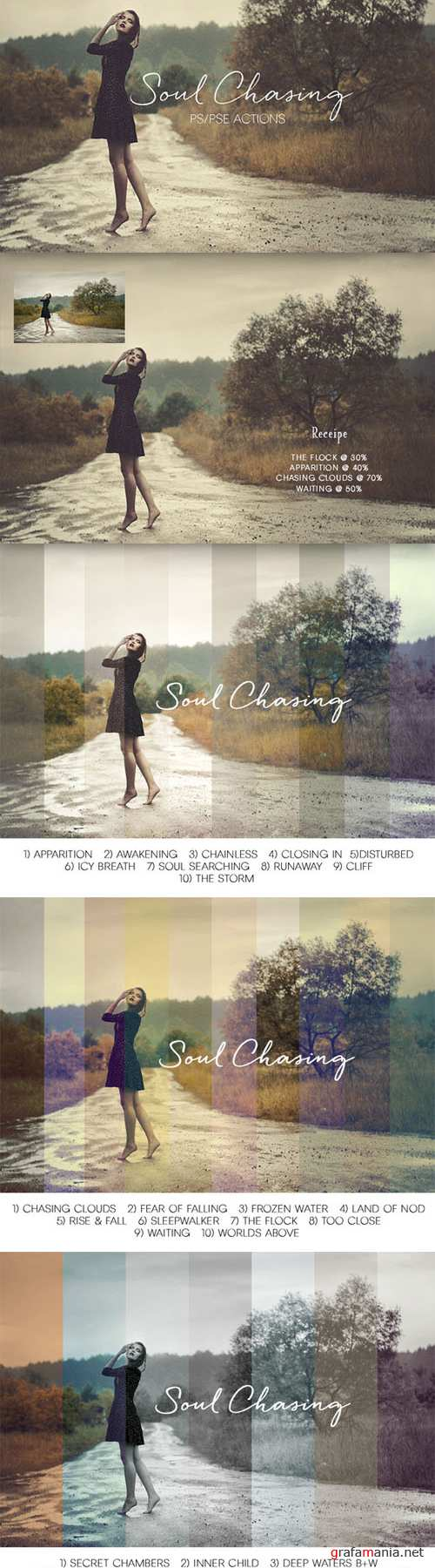 Creativemarket - Soul Chasing Action Collection 264229