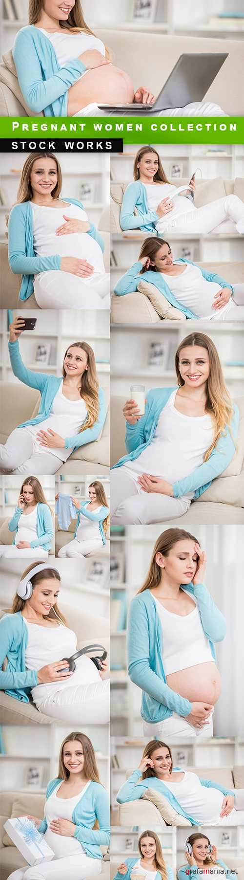 Pregnant women collection - 15 UHQ JPEG