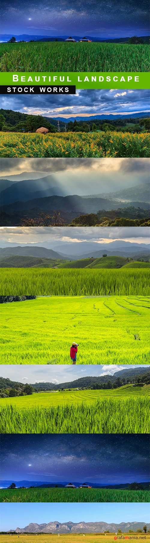 Beautiful landscape - 7  UHQ JPEG