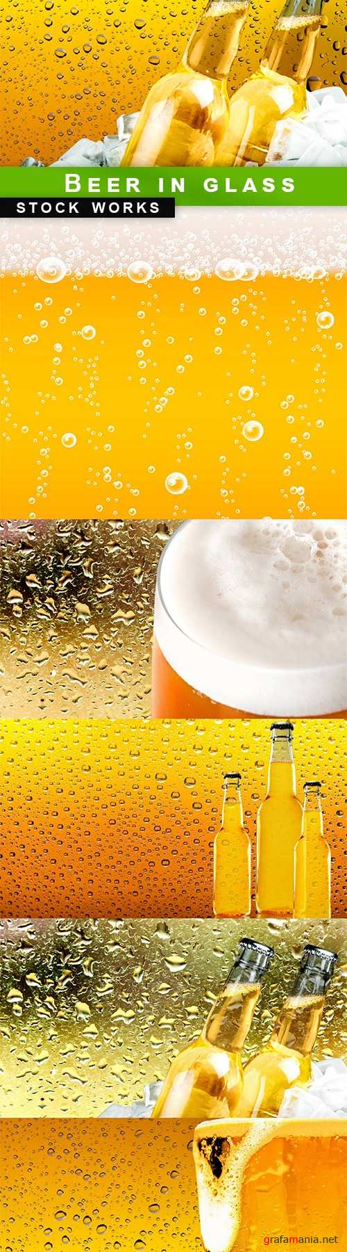 Beer in glass - 6 UHQ JPEG