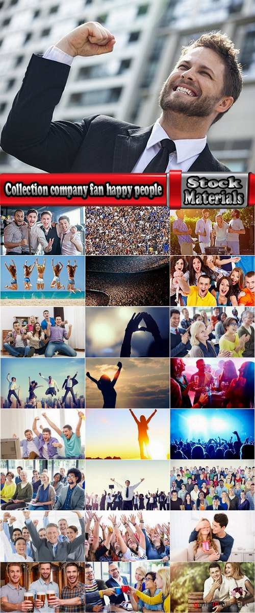 Collection company fan happy people lucky people laughing joy 25 HQ Jpeg