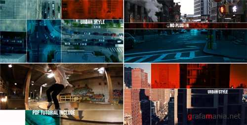 Urban Style | Dynamic Opener - After Effects Project (Videohive)
