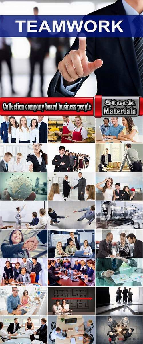 Collection company board business people businessman consulting training 25 HQ Jpeg