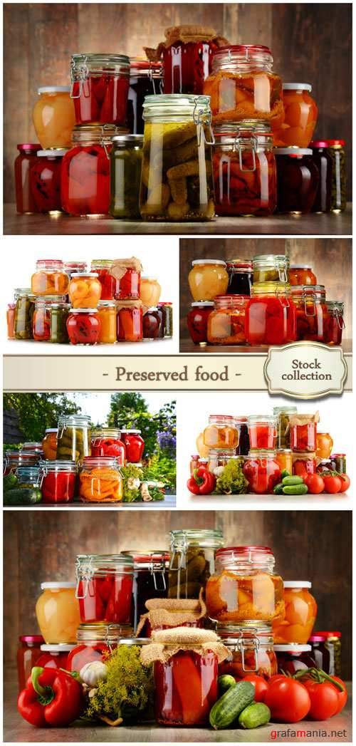 Preserved food - Stock photo