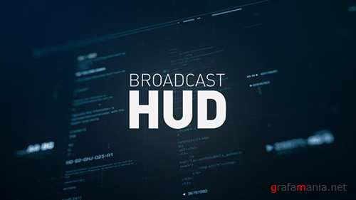Broadcast HUD - Project for After Effects (Videohive)