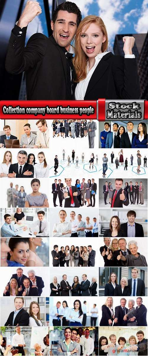 Collection company board business people businessman consulting training #2- 25 HQ Jpeg