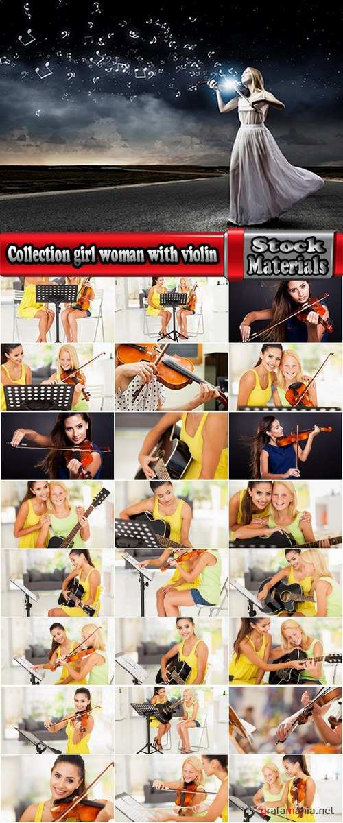 Collection girl woman with violin music musician violinist 25 HQ Jpeg