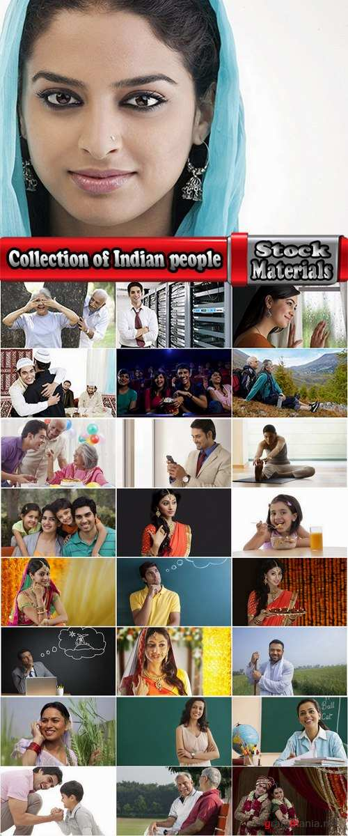 Collection of Indian people happy man woman girl old man 25 HQ Jpeg