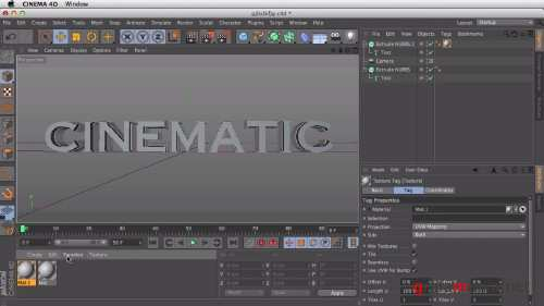 Cinematic Titles in After Effects and Cinema 4D