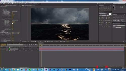 Creating Realistic Ocean Scene in After Effects