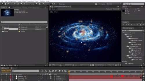 Creating a Galaxy in After Effects
