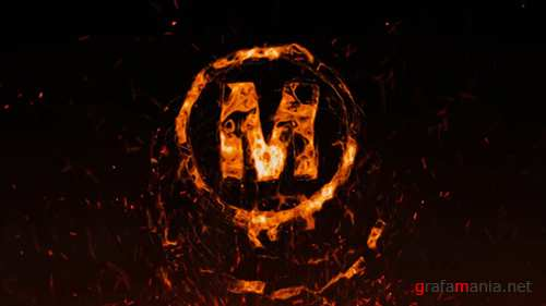 Flame Logo - After Effects Template (Motion Array)