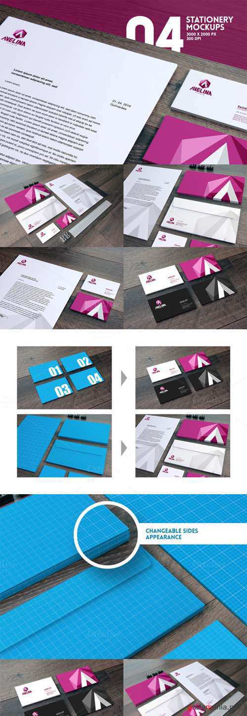 Home Office Stationery Mockups