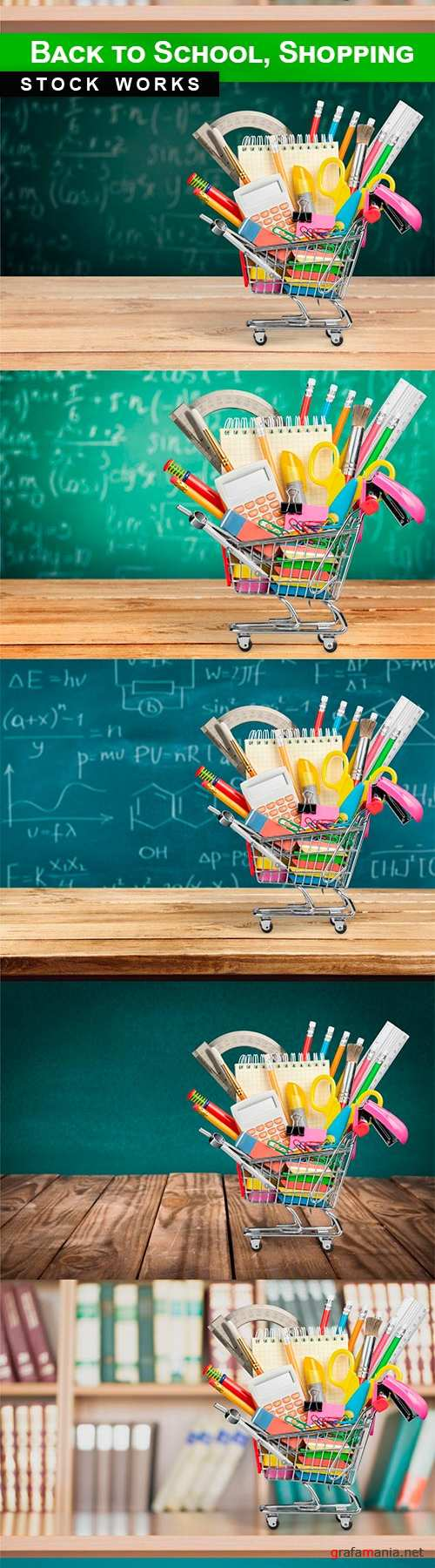Back to school shopping -