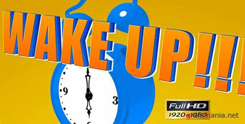Cartoon Alarm Clock - Project for After Effects (Videohive)