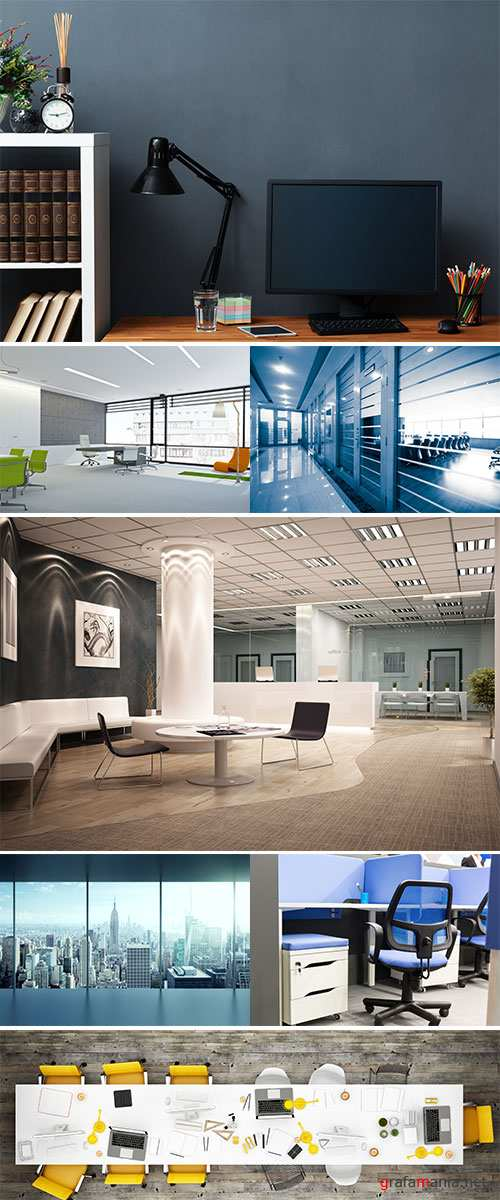 Stock Image  Space office